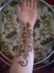~floral henna tattoo~