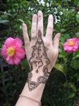 ~Hindu henna tattoo~