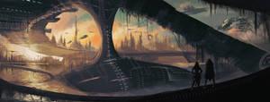 landscape by Ecassandra