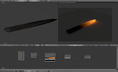 Blender3d Emission Gradient ColorRamp by anul147