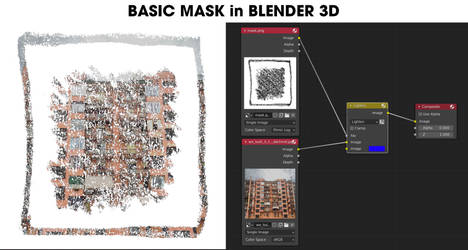 BASIC MASK in BLENDER 3D