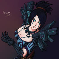 Metal Warden by LaraNico