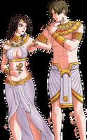 Egyptian style by LaraNico