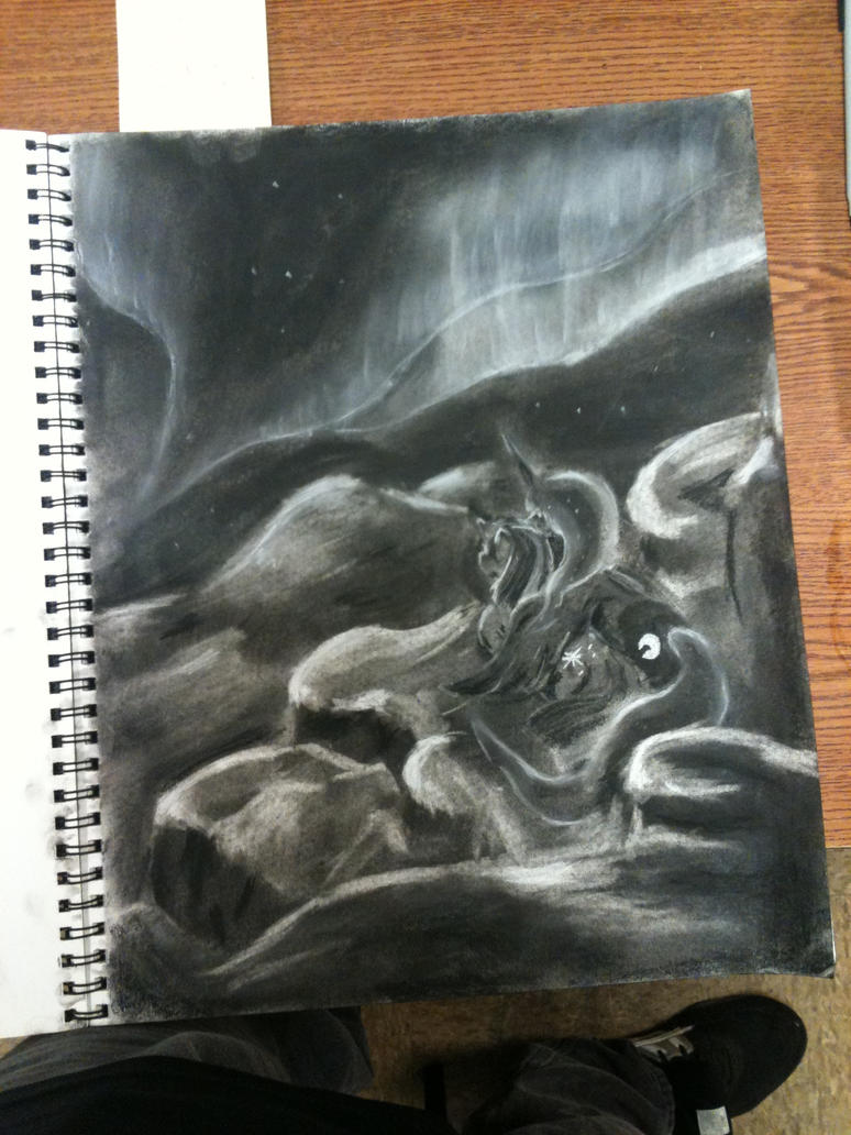 Luna's Aurora by MidnightQuill