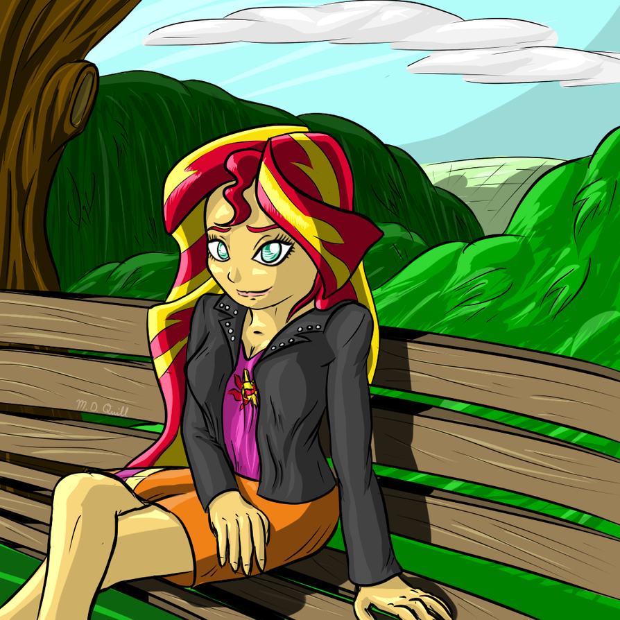 Sunset Shimmer by MidnightQuill