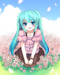 Spring Miku by revanche7th