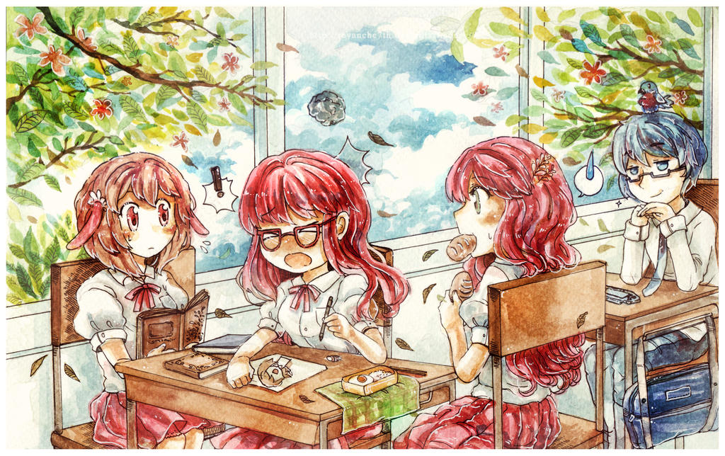 School Life [ have a good time ] by revanche7th