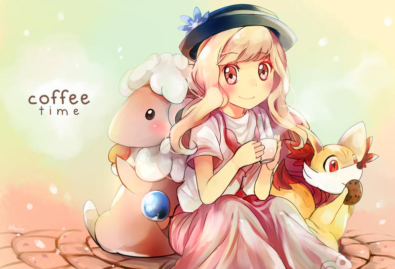 Pokemon : Coffee Time by revanche7th