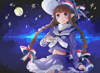 Wadanohara and the Great Blue Sea by revanche7th
