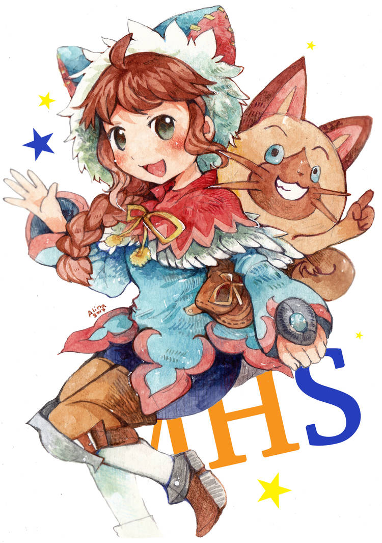 Monster Hunter Stories Ride On By Revanche7th On Deviantart