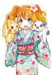 Commission - Kimono