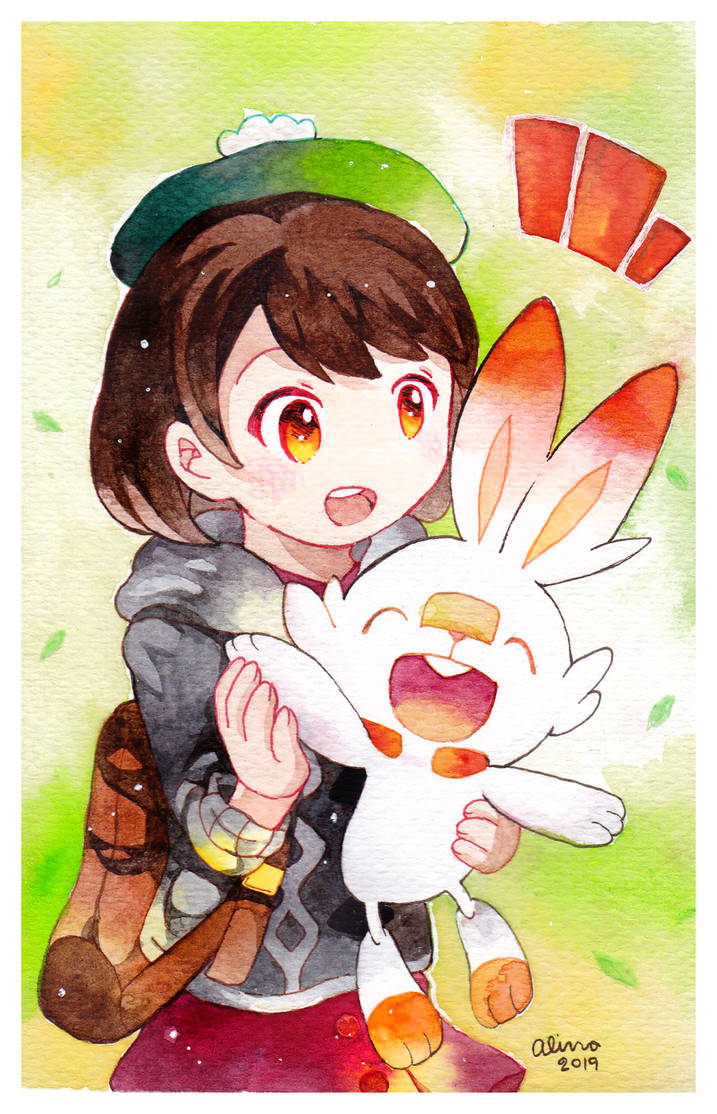 Scorbunny Pokemon Sword And Shield By Revanche7th On Deviantart