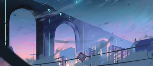 Sketch The City by CM2D