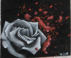 Blood Rose by blkdream76