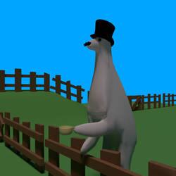 Fancy llama by deathwillcome800