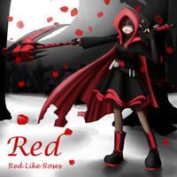 RWBY-Red by EmotionCat