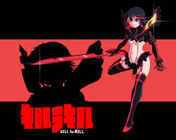 Kill-La-Kill-Ryuko by EmotionCat