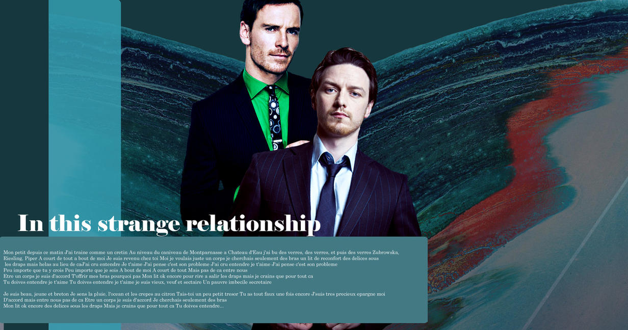 James McAvoy and Michael Fassbender by CantonEverett on ...