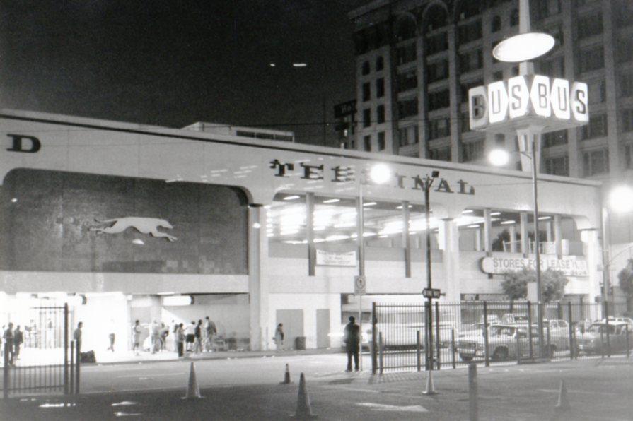 Greyhound Bus Station, Los Angeles by DAPoliticalForum