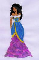 Designer Disney: Esmeralda by Becca-Emmett