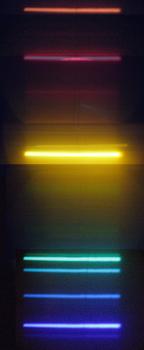 Spectrum of He I