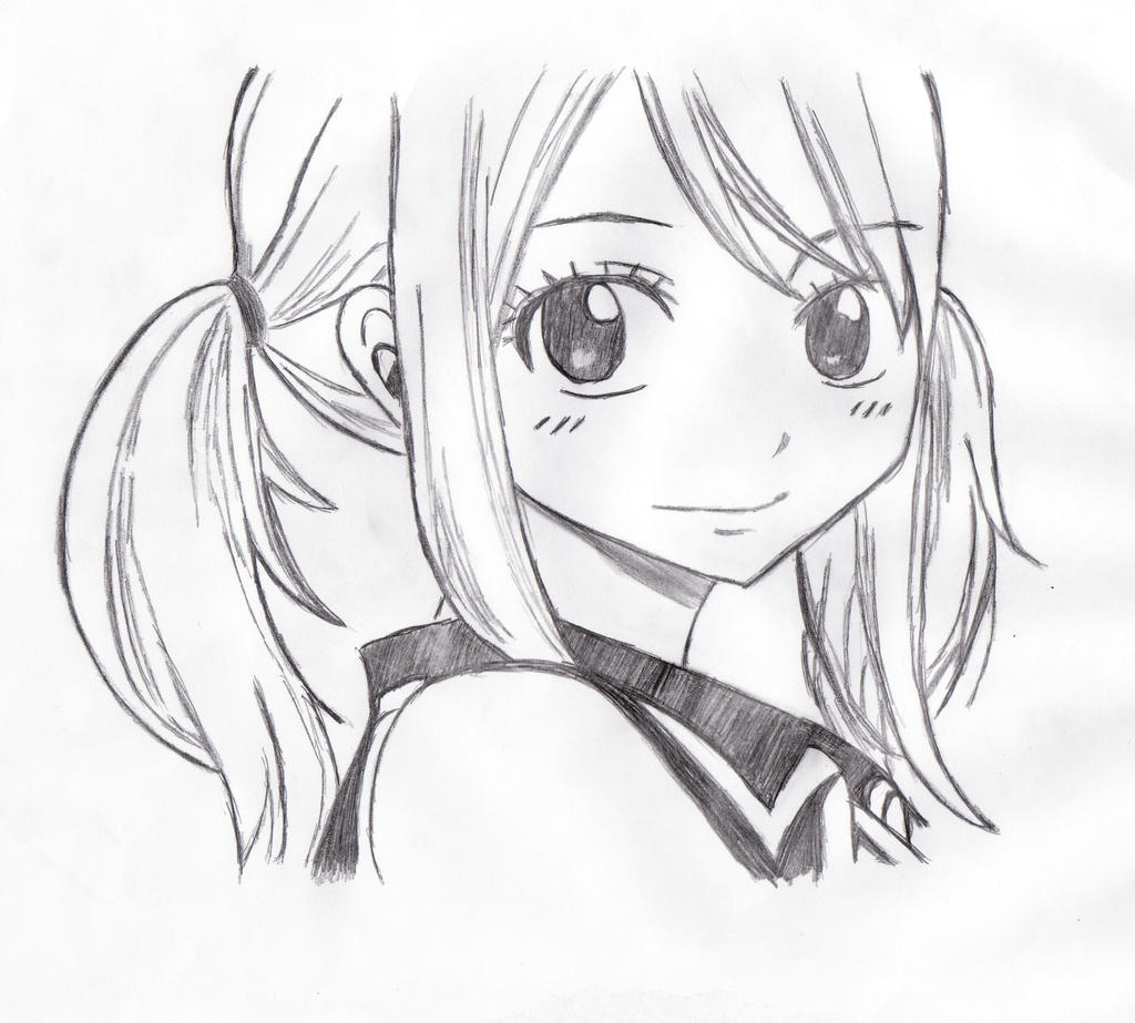 Fairy tail lucy by bloodyvampress44 on deviantart - Lucy fairy tail drawing ...