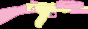 Fluttershy's American-180 submachine gun