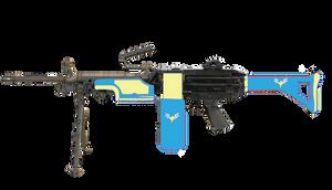Wonderbolts M249 SAW machine gun