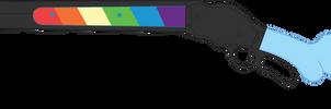 Rainbow's Winchester 1887 Shotgun