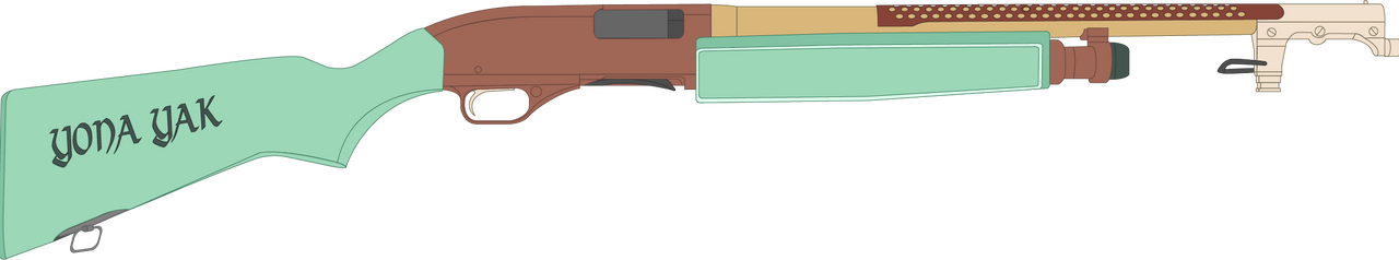 Yona's Winchester Model 1200 Shotgun