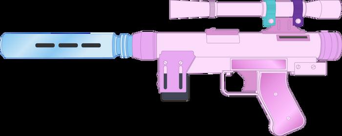Silverstream's SE-14r Blaster Pistol