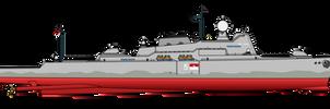 Cirasthayi Sikari missile cruiser (refit)