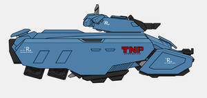 Iry-Kitoyo Rapid Assault Vehicle by Exofuture