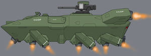 CCDF Hagglunds Kuiskaus F71 APC by Exofuture