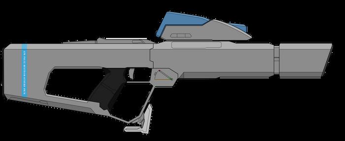 Athena neutron pulse rifle (remake)