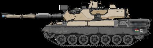 Leopard 1* MBT refit, 2019 by Exofuture