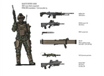 Galactic Defense League infantry equipment (3622)