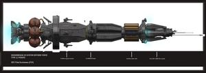 Groombridge 34 SDF Type 11 frigate