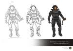 Groombridge 34 SDF Extra-Vehicular Combat Suit