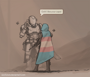 Destiny 2: in support of Trans Day of Visibility