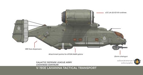 Lockheed Centauri V-190E Lahanna
