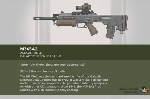Galactic Defense League M345A2