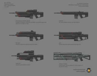 Halo: Far Isle Multi-Mission Support Weapon var. 1
