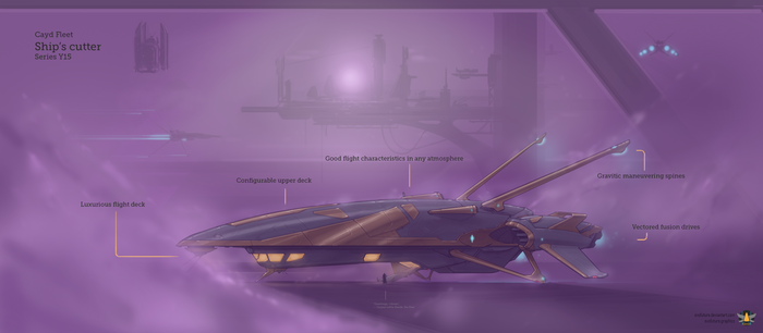 Cayd ship's cutter