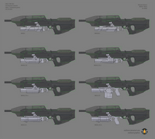 Halo: Far Isle XM301 40mm concept sheet 3