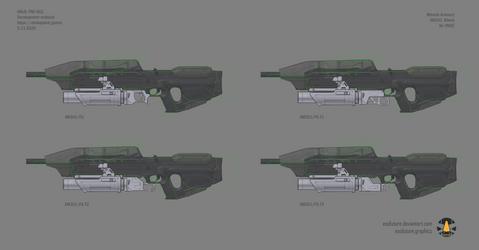 Halo: Far Isle XM301 40mm concept sheet 5