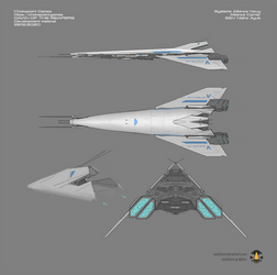Mass Effect: Dawn of the Reapers Alliance Carrier by Exofuture