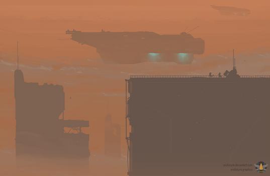 Dust storm dust-off
