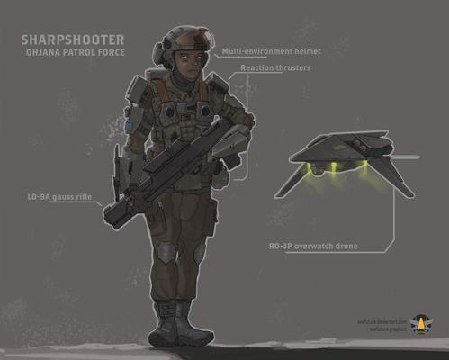 Ohjana Patrol Force Sharpshooter