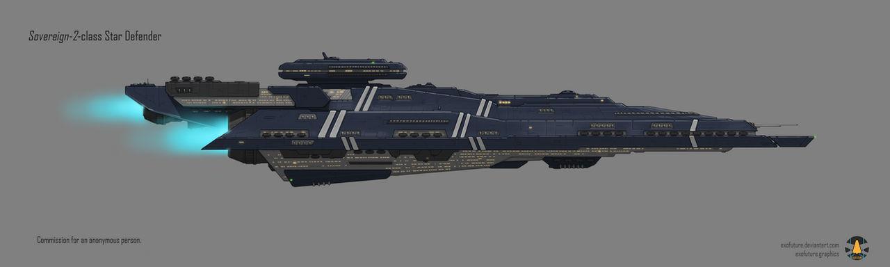 Commission: Sovereign-2 Star Defender